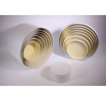 Коробки Цилиндр из 8 шт 31*31*20 см Белые