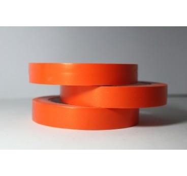 Лента Простая Гладкая Без Тиснения Оранжевый