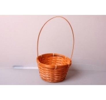 Корзина Плетеная оранжевая 17*10*33