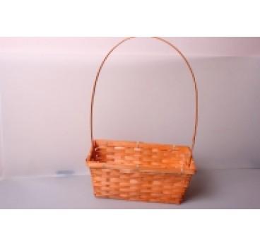 Корзина Плетеная оранжевая 30*17*12*45