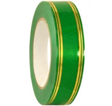 Лента С Золотой Полосой Классика Полосы По Краю Зеленый