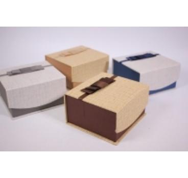 Коробка Квадрат на магните 12*13*7 см в ассортименте