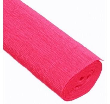 Бумага Гофрированная розовая 551