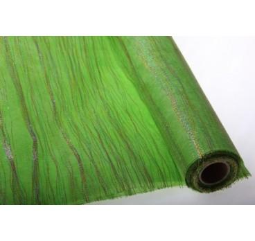 Сетка Волна Тёмно Зелёная