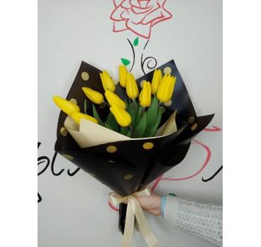 Букет из тюльпанов №11