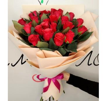 Букет из крымских роз №44