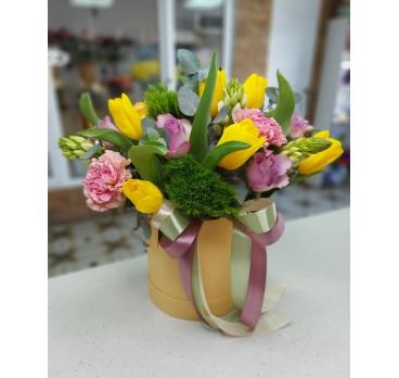 Коробка с цветами №48