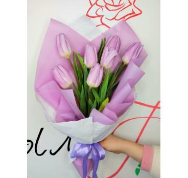 Букет из тюльпанов №10