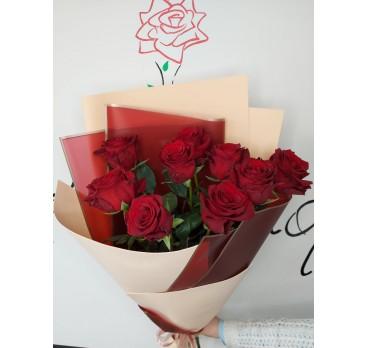 Букет из импортных роз №7