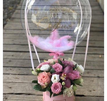 Коробка с цветами №42