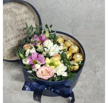Коробка с цветами №37