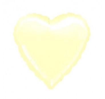 фольгированное сердце №12