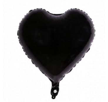 фольгированное сердце №7