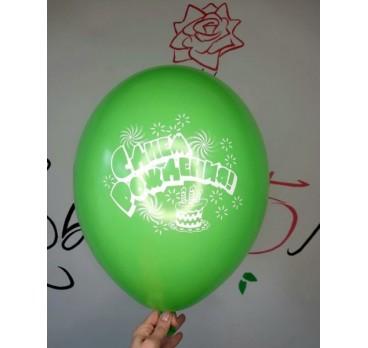 латексный шар №49