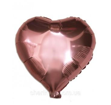 фольгированное сердце №6