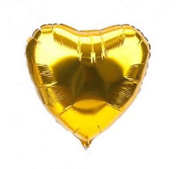 фольгированное сердце №11