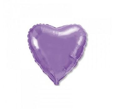 фольгированное сердце №5
