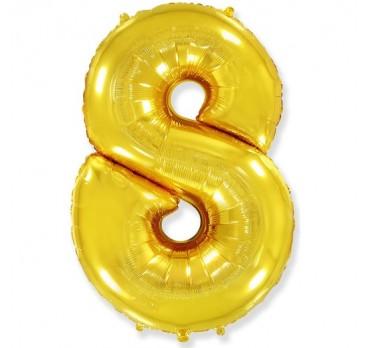 фольгированная цифра №15