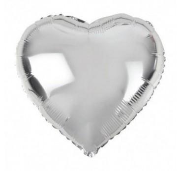 фольгированное сердце №9